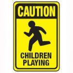 cautionChildren