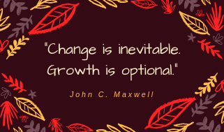 Change=growth